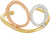 Charlotte Chesnais Twin silver and gold-plated cuff