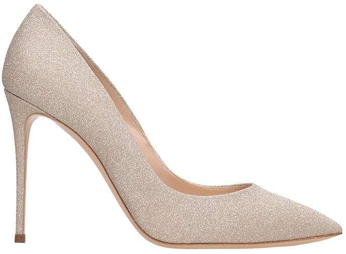 c106fce63a2 Casadei Gold Heels - ShopStyle UK