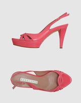 Pura Lopez Platform sandals