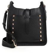 Rebecca Minkoff Small Unlined Studded Leather Feed Crossbody Bag