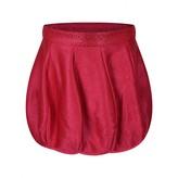 Miss Blumarine Miss BlumarineGirls Raspberry Wool Bubble Hem Skirt