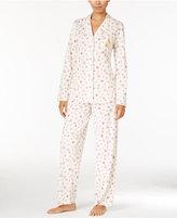 Lauren Ralph Lauren Notch Collar Printed Pajama Set