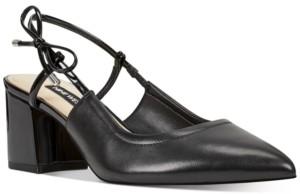 Nine West Tuist Slingback Block-Heel Pumps Women's Shoes