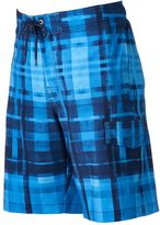 Men's SONOMA Goods for LifeTM Plaid Stretch Swim Trunks