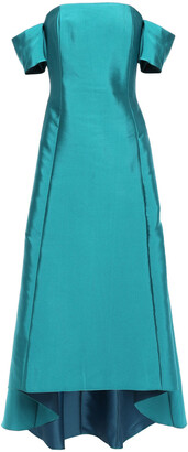 Sachin + Babi Bengaluru Off-the-shoulder Satin-twill Gown