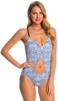Nautica Broadway Mix Cut Out One Piece Swimsuit 8146214