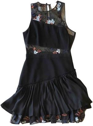 Cinq à Sept Black Lace Dress for Women