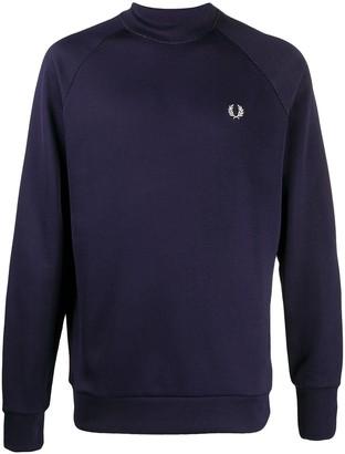 Fred Perry Raglan Sleeves Sweatshirt