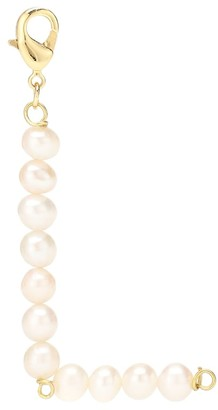 Timeless Pearly Letter L pearl-embellished charm