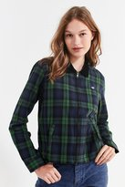 Obey Maddy Zip-Up Flannel Shirt