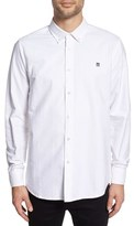 Obey Men's 'Eighty Nine Patch' Trim Fit Woven Shirt