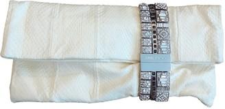 Jimmy Choo Chandra Ecru Python Clutch bags