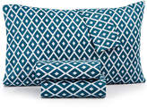 Jessica Sanders Printed Microfiber Queen 4-Pc Sheet Set, Created for Macy's Bedding
