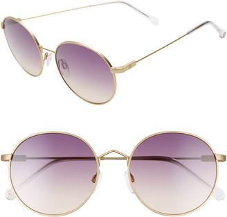 ELECTRIC Hampton 50mm Round Sunglasses