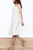Lush Stripe Strapless Dress