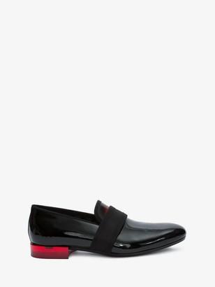 Alexander McQueen Patent Leather Slipper