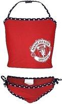 Manchester United F.C. Manchester United FC Official Gift Girls Swimsuit Bikini Tankini