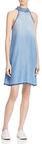 Bella Dahl Whipstitched Chambray Dress