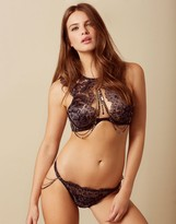 Agent Provocateur Dusty Brief Grey And Black