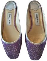 Jimmy Choo Purple Flats