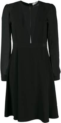 Blumarine Be Georgette Skater Dress