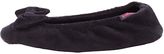 totes Pillowstep Ballet Bow Slippers, Black