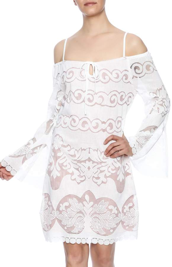 Union of Angels White Lace Dress