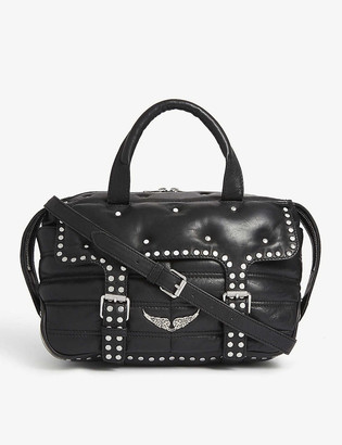 Zadig & Voltaire Rider small leather tote bag