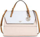 GUESS Huntley Top-Handle Flap-Front Satchel