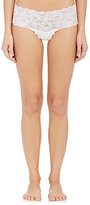 Cosabella WOMEN'S NEVER SAY NEVER LOW-RISE HOT PANTS-WHITE SIZE S/M