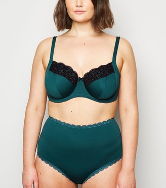 New Look Curves Lace Trim Underwired Bra