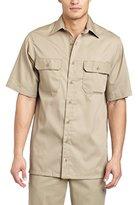 Carhartt Men's Twill Short Sleeve Work Shirt Button Front