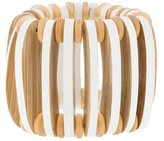 Marni Wood Stretch Bracelet