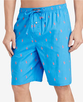 Polo Ralph Lauren Men's Woven Pony Player Sleep Shorts