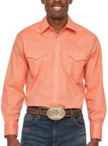 Ely Cattleman Black Label Mens Long Sleeve Western Shirt