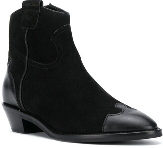 See by Chloe Effie suede western boots