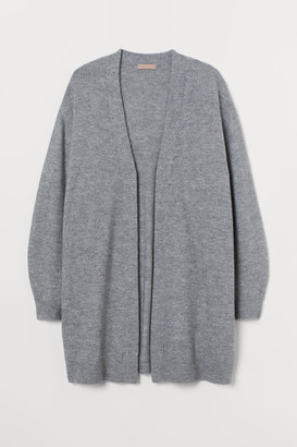 H&M H&M+ Long Cardigan - Gray