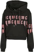 Alexander McQueen Text Embroidered Hoodie
