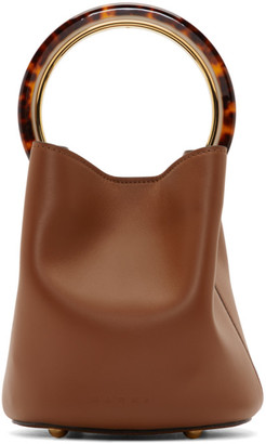 Marni Brown Small Pannier Bag