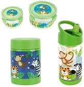 Stephen Joseph Flip & Sip Bottle, Snack, and Hot/Cold Containers Set