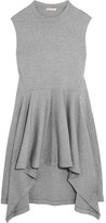 Marni Double-faced Wool-blend Jersey Tunic - Gray