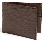 Boconi Men's Lizard Wallet - Brown