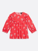 Thumbnail for your product : New Look DesireeThree Quarter Sleeve Frill Shell Top - Print