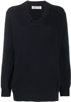Lamberto Losani Ribbed Knit Jumper