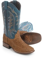 Stetson Amazon Bay Apache Cowboy Boots - Square Toe (For Men)