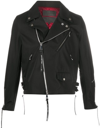Fumito Ganryu Zip-Cuffs Biker Jacket
