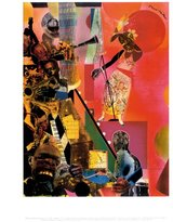 McGaw Graphics The Blues Art Print by Romare Bearden 11 x 14in