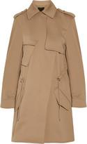 Alexander Wang Tech-jersey trench coat