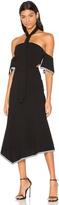 Rebecca Vallance Courtside Halter Midi Dress