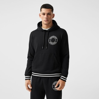 Burberry Logo Graphic Cotton Overized Hoodie